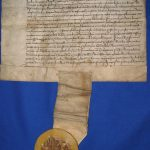 King James II letter Fortrose Burgh Aug 1455