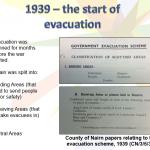 Evacuation in World War Two
