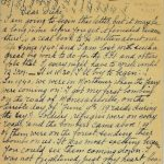 Hugette Verhague Letter French Resistance
