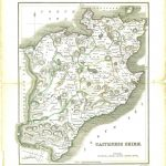 Caithness County Map 1838