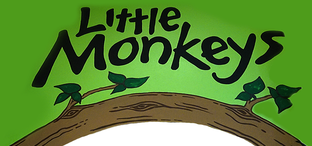 Little Monkeys Banner