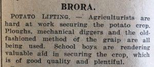12 Nov JOG Brora Agriculture