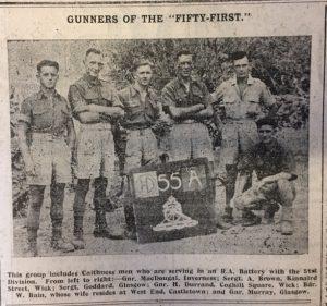 3 Dec Gunners of 51st