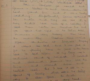 11 Dec Hetty Munro diary Ian and Margaret got married