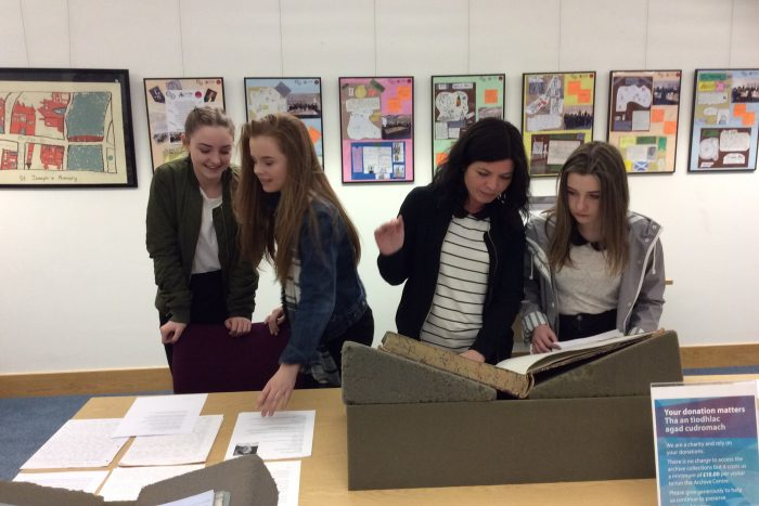 Mining the Archives Exhibition Highland Archive Centre 28-03-17 (2)