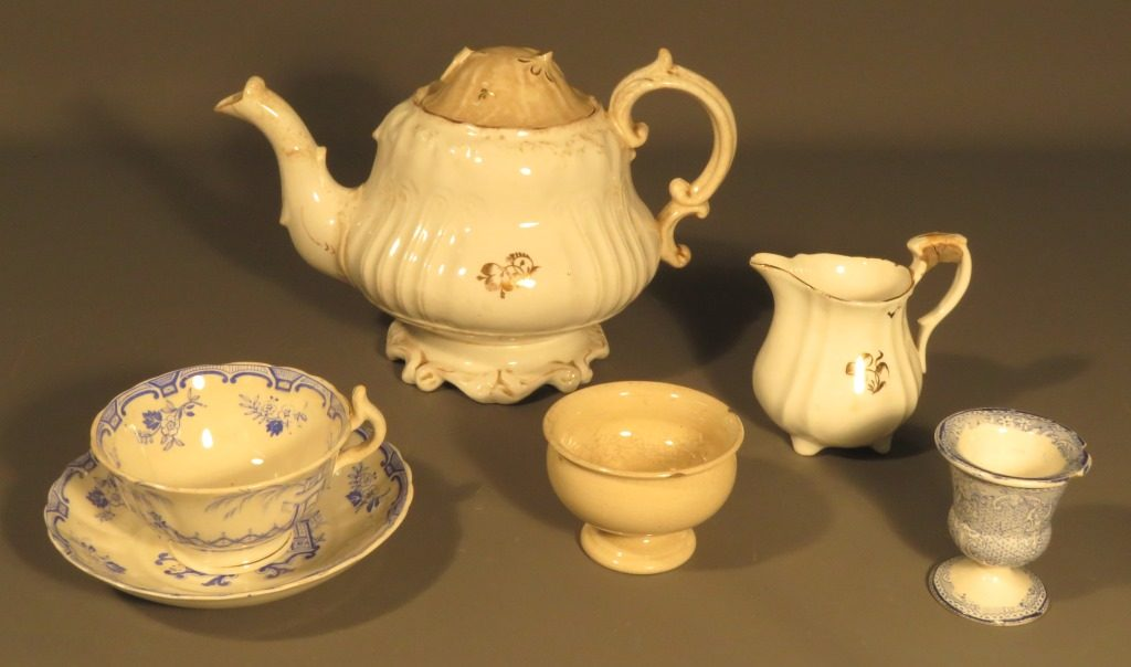 Selection of ceramics from the HFM collection which have similarities to the Barvas Ware forms.