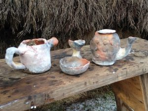 Some of the finished pots