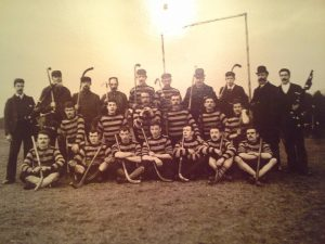 Believed to be Shinty in Grantown 1890s