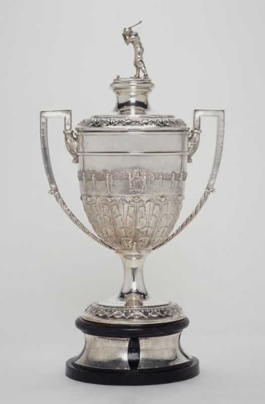 The Camanachd Association Challenge Cup, better known as the Camanachd Cup. Image courtesy of shinty.com