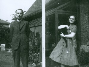 Rev Kenneth William Brown and Rosemary Buchan c. 1940