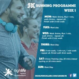 5K Running Programme