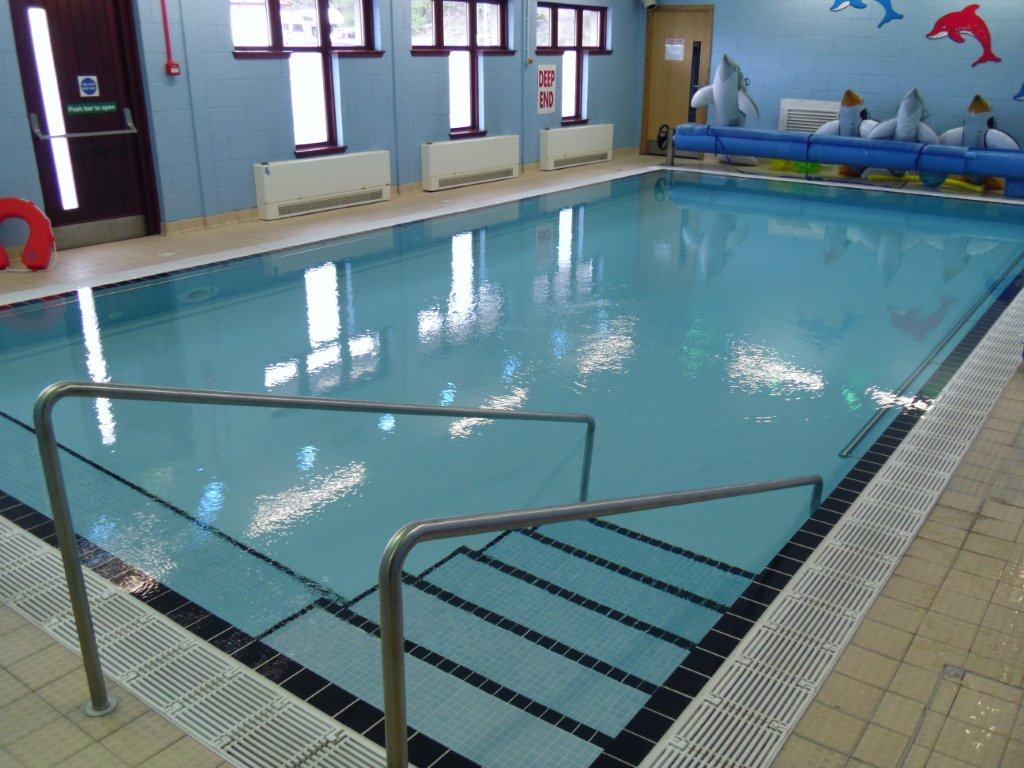 Hydrotherapy pool lochaber leisure centre for Hydroponic pool