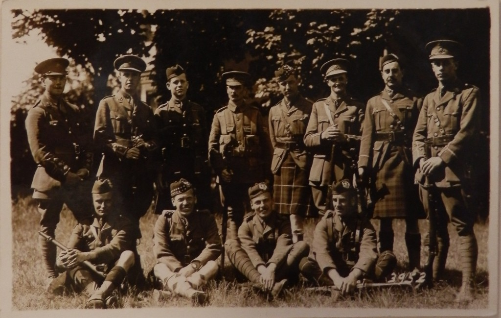 12the Scottish Rifles Photo Only