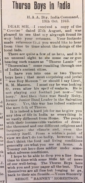 31 Dec Courier Thurso Boys in India - Nucleus: The Nuclear