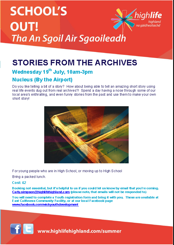 Stories from the Archives 19 July 2017