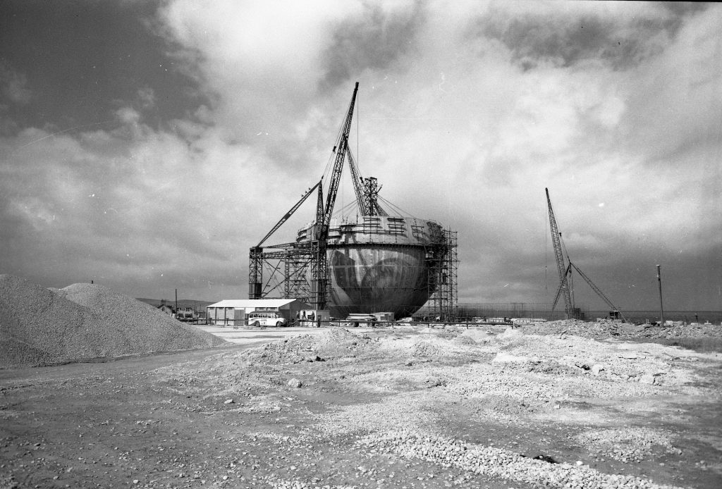 Construction at Dounreay site