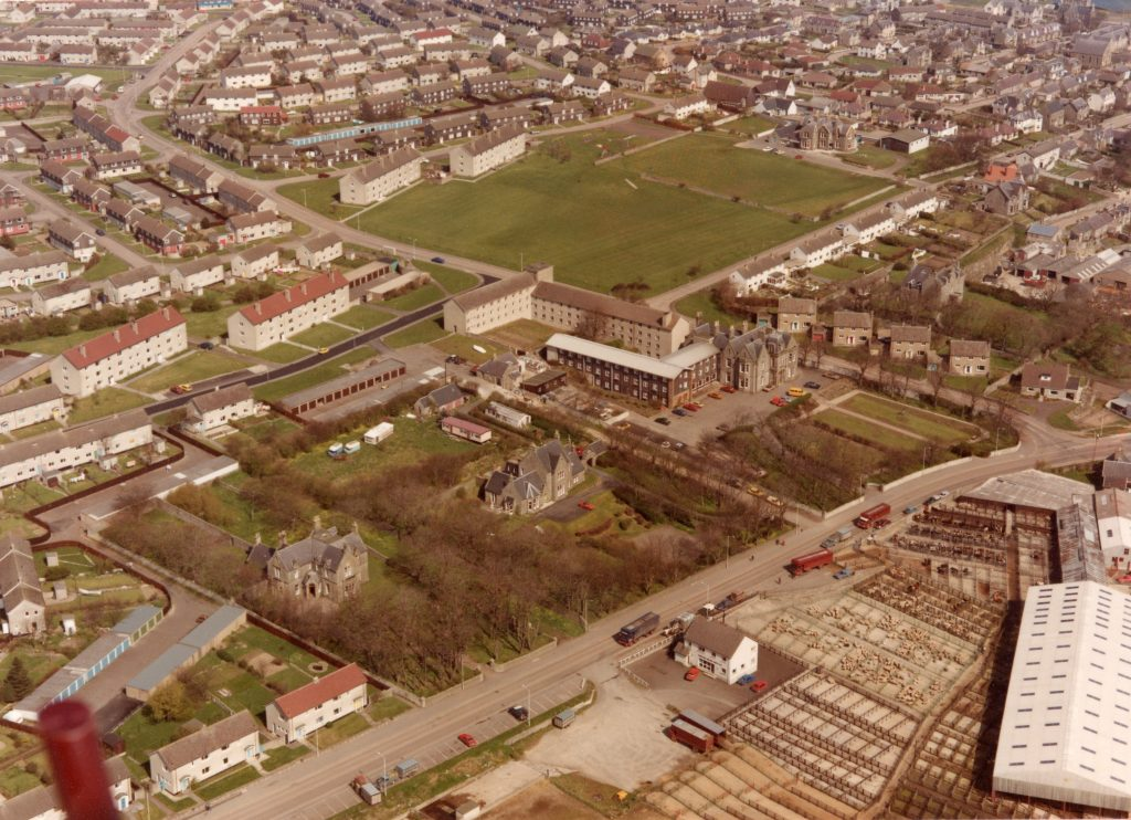 Aerial View Ormlie