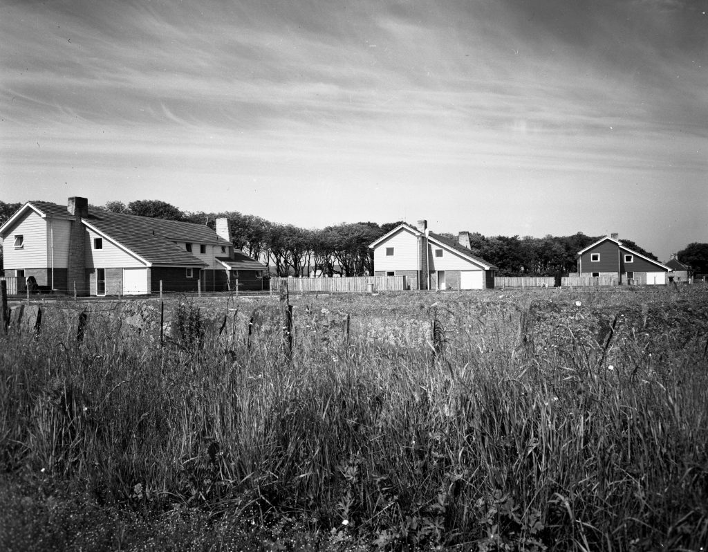 Exterior Photograph of Housing at Castletown