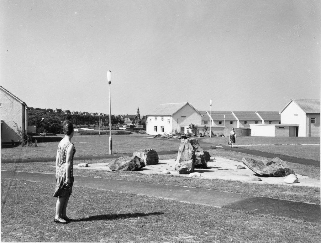 Exterior Photograph of Mount Vernon Housing