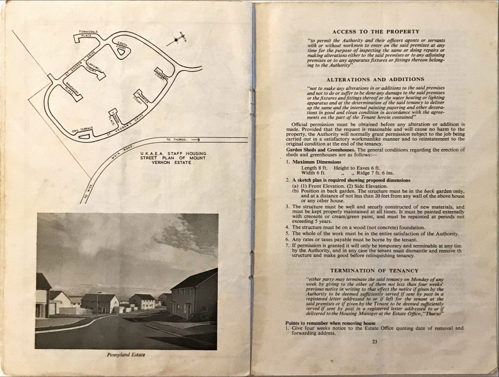 Dounreay Householders Handbook Pages 22 & 23