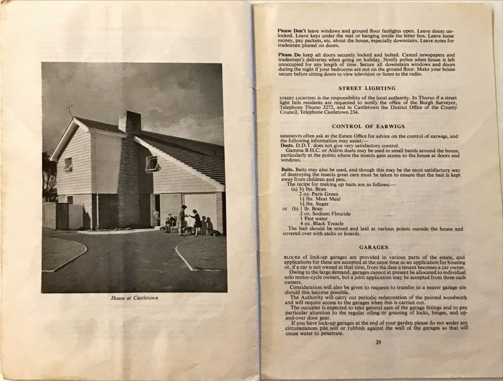 Dounreay Householders Handbook Pages 28 & 29