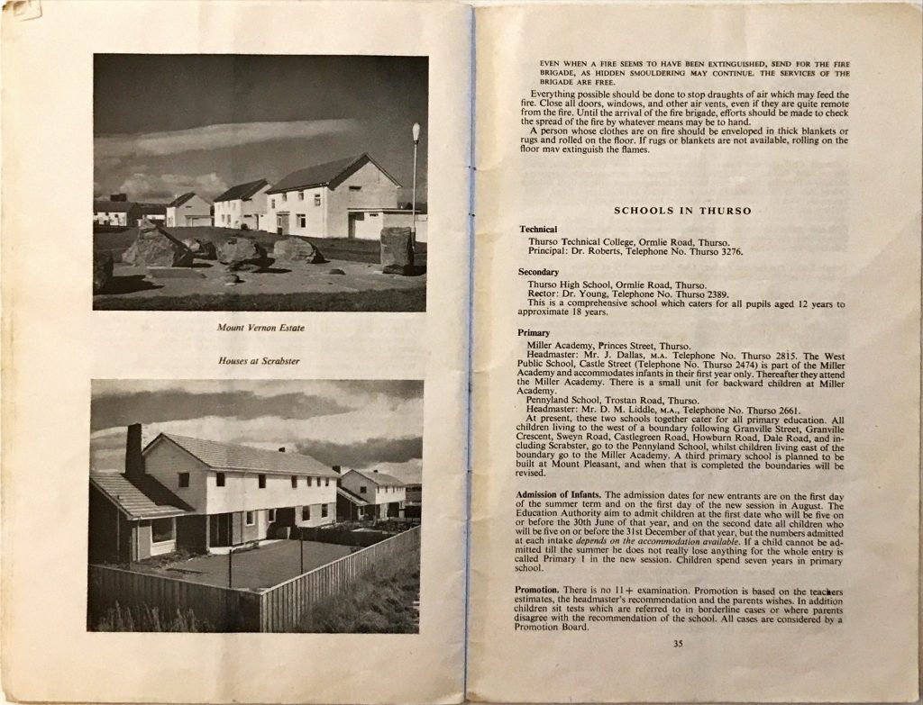 Dounreay Householders Handbook Pages 34 & 35