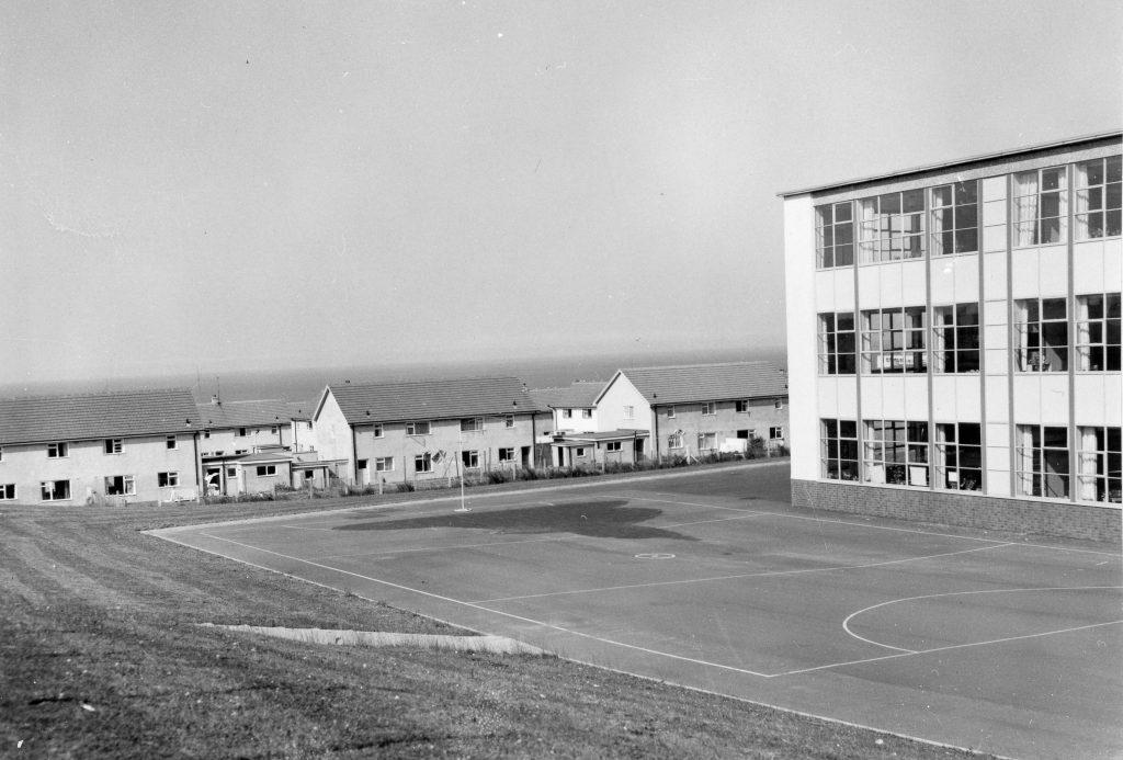 Pennyland Estate from Rev School