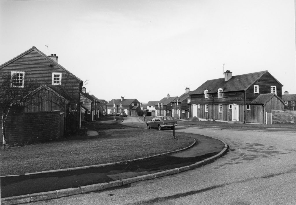 Exterior Photograph of Pennyland Housing Estate