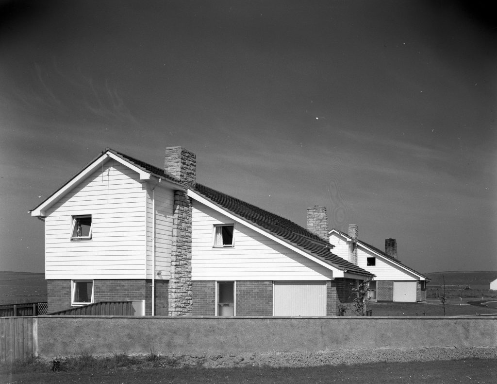 Photograph of Housing at Scrabster