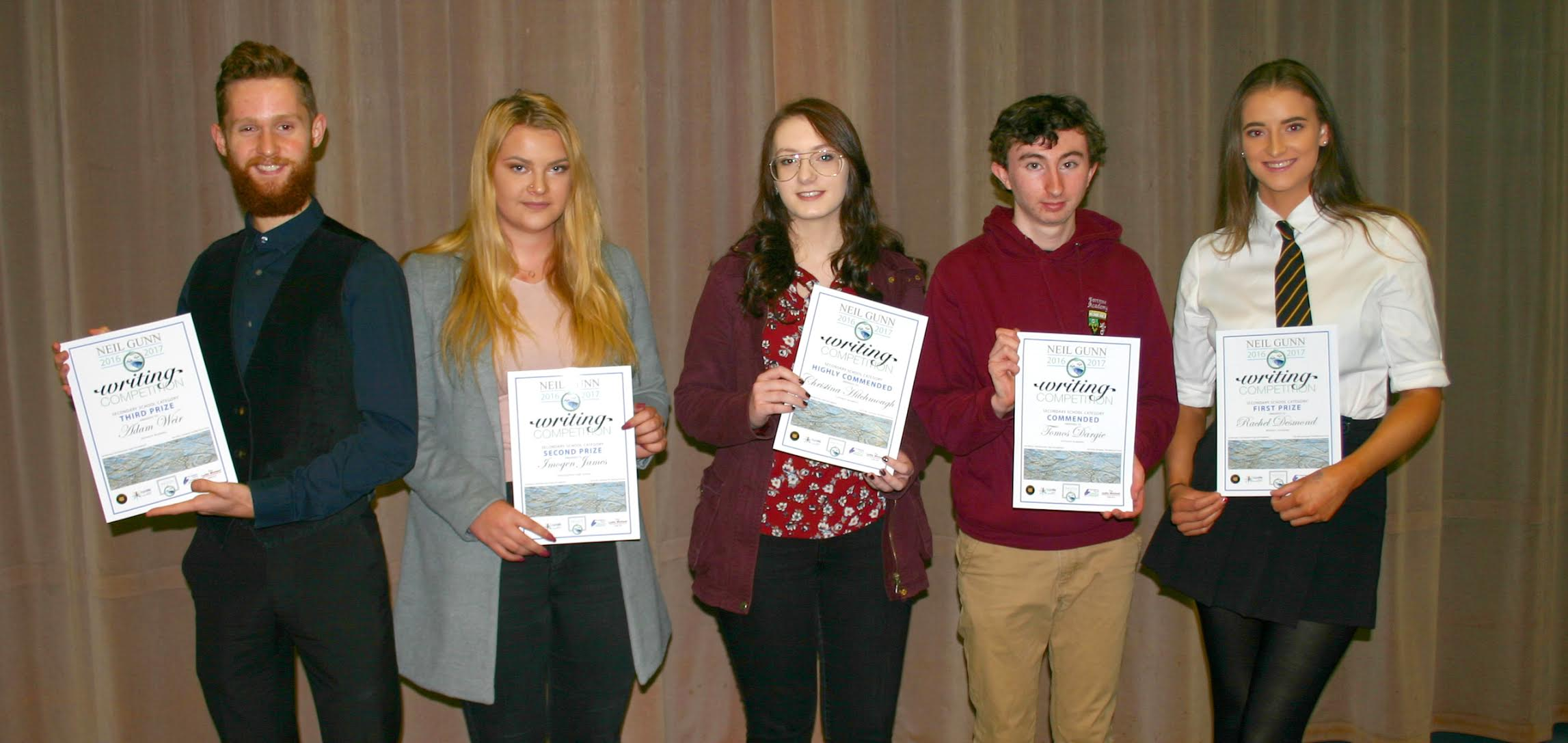 NGWC Secondary Prize Winners 2017