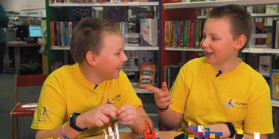 High Life Highland Libraries High Voltage volunteers