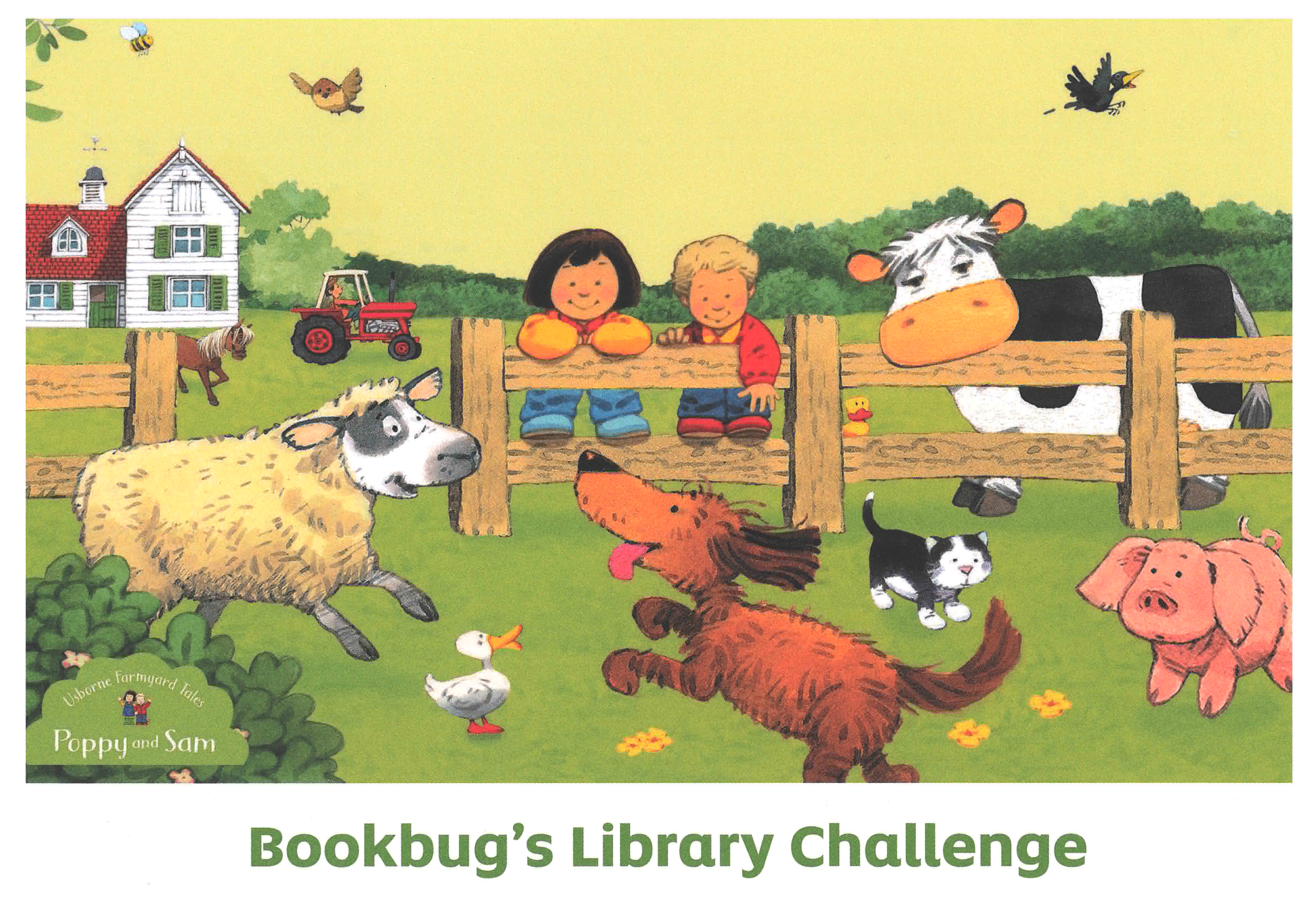 Bookbug's Library Challenge certificate