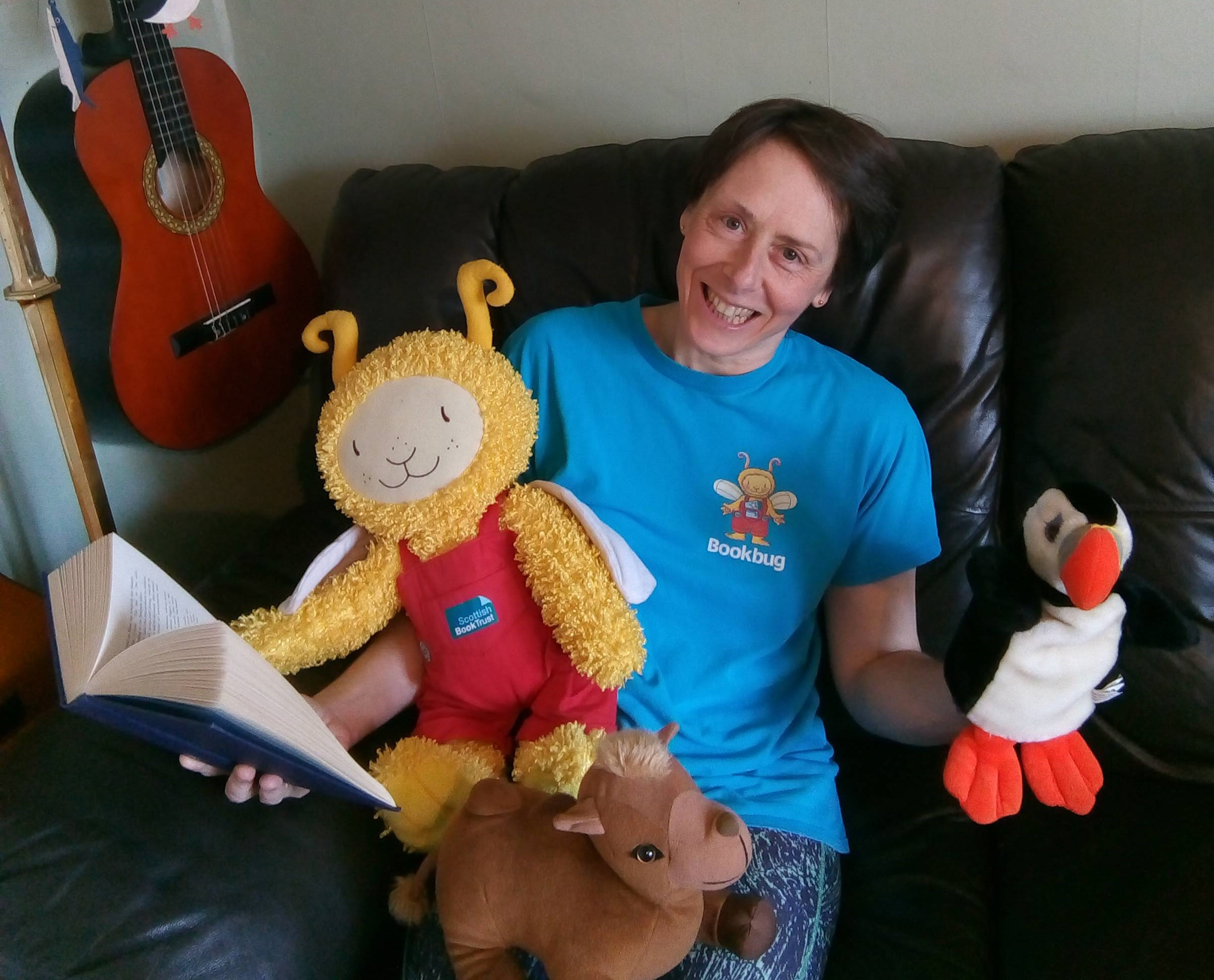Bookbug Live with Joolz.