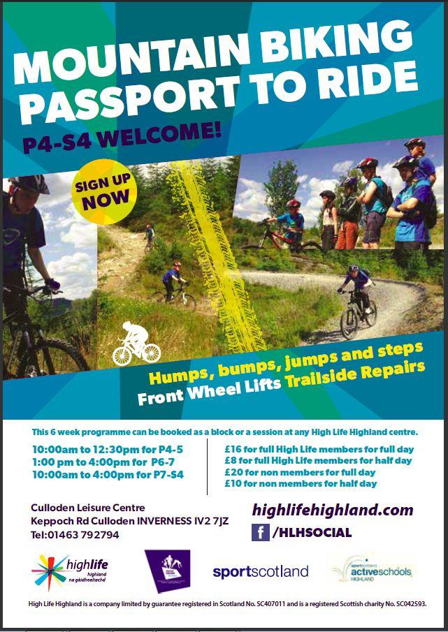 Culloden Passport to ride
